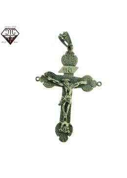 Croce p. con cristo g.x rosari
